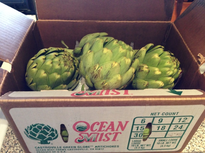 Artichokes from Ocean Mist Farms